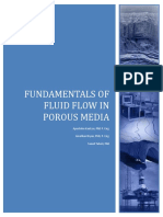 Fundamentals of Fluid Flow in Porous Media