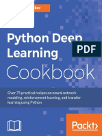 Python Deep Learning Cookbook - Indra Den Bakker