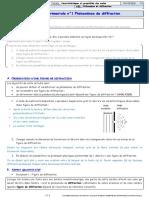 CH7 OBSERVER (P) AE1 Phénomènes de Diffraction