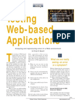 Testing Web Applications