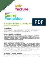 Architecture Du Centre Pompidou