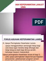 Focus Keperawatan Lansia 4