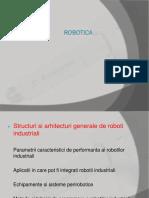 Structuri Si Arhitecturi Generale de Roboti Industriali