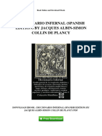 Diccionario Infernal Spanish Edition by Jacques Albin Simon Collin de Plancy