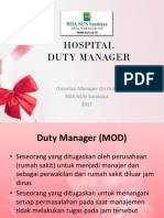 Hospital Duty Manager-ppt