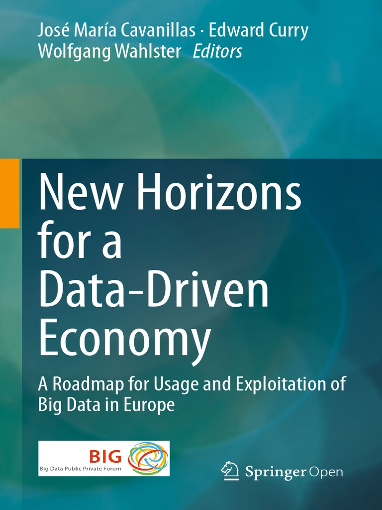 New Horizons for a Data-Driven Economy | Big Data | Innovation