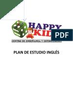 Plan de Estudio Ingles 2017