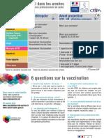 Carte Vaccin s 6