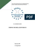 George David - Tehnici de Relatii Publice