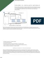 Sistem de Încălzire Cu Un Circuit de Circulație Naturală Și Principiul de Funcționare