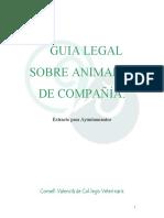 Guia Legal Sobre Animales de Compañia