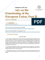 The Treaty on the Functioning of the European Union Part II
