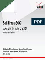 Building a SOC