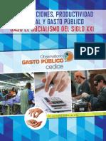 Remuneraciones, Productividad Laboral y Gasto Público - CEDICE