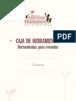 Plataforma Congenia_Caja de Herramientas_Herramientas Para Recordar