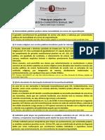 Principais Julgados de Direito Constitucional 2017