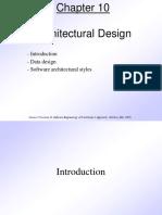 5.Pressman Ch 10 Architectural Design
