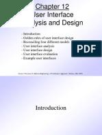 6.Pressman Ch 12 User Interface Design