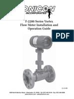 F-2200 Flow Meter Manual - 12-08