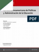Revista Latinoamericana de Política y Administración de la Educación #006