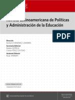 Revista Latinoamericana de Política y Administración de la Educación #003
