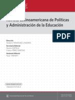 Revista Latinoamericana de Política y Administración de la Educación #001