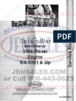 Caterpillar 3406 Engine Service Manual s n 70v1 (1)