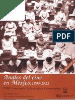 Anales Del Cine Mexicano