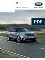 Range Rover Velar Specification Sheet _tcm297-446054