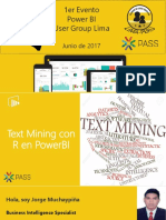 Text Mining Con R en PowerBI