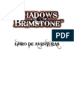 Shadows of Brimstone Libro de Aventuras