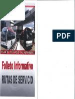 AMA Folleto Informativo Rutas de Servicio