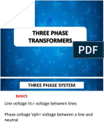3 Phase Transformers 1