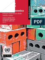 Estructura Productiva y Política Macroeconómica Enfoques Heterodoxos Desde América Latina