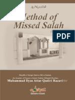 Method of Missed Salah (Hanafi)
