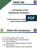ENGG 400 - Week 1