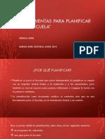 Planificación - López Mónica