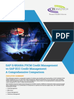 SAP S 4HANA FSCM Credit Management vs SAP ECC Credit Management
