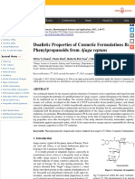Dualistic Properties of Cosmetic Formulations Based on Phenylpropanoids from <i>Ajuga reptans<:i>.pdf