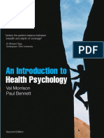 An Introduction to Health Psychology 2nd Edition