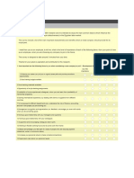 Employer Brand Perception Questionnaire