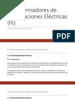Transformadores de Subestaciones Eléctricas III