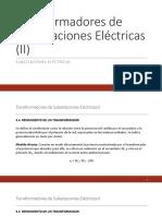 Transformadores de Subestaciones Eléctricas II