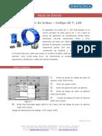 Hoja de Datos Adapatador de Bridas Cod Jd Tipo 128 1