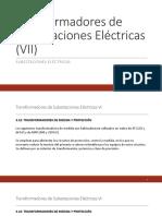 Transformadores de Subestaciones Eléctricas VII