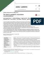 Tabla Medicamentos Recomendaciones Rcp 2017 Anales de Pediatria