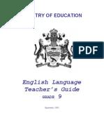 Grade 9 - English Teacher's Guide