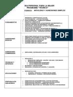 PDF Programa Técnico de Defensa Personal Para La Mujer