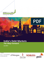 ASIFMA - India's Debt Markets the Way Forward(1)