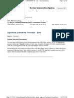 Injector Prerssure Test